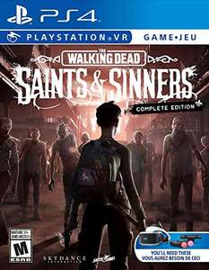 Amazon - The Walking Dead: Saints & Sinners - The Complete Edition (PSVR) - PlayStation 4 - PS5