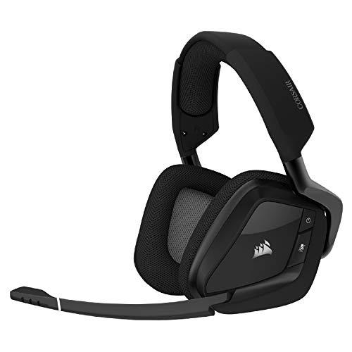 Amazon: Corsair CA-9011201-NA Diadema Void Elite Wireless Carbon, Negro, Grande