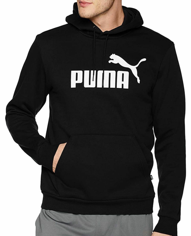 Amazon: PUMA ESS Hoody FL Big Logo Sudadera con Capucha para Hombre, talla chica, mediana y grande