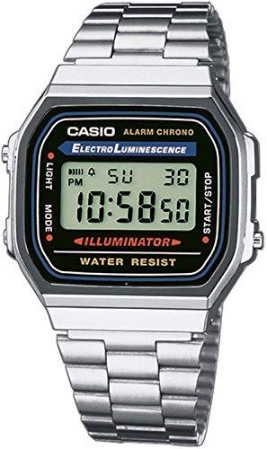 Amazon Reloj Casio A168WA-1YES
