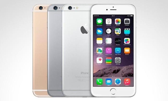 Groupon: Iphone 6, 16Gb reacondicionado a $8,999; 64Gb por $1,000 más.