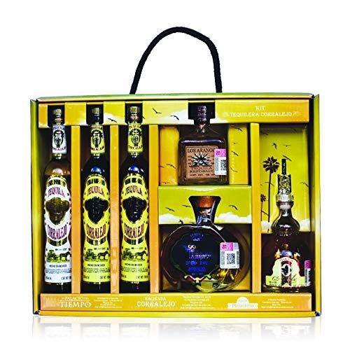 Amazon: Kit Tequilas Corralejo 100 ml c/u