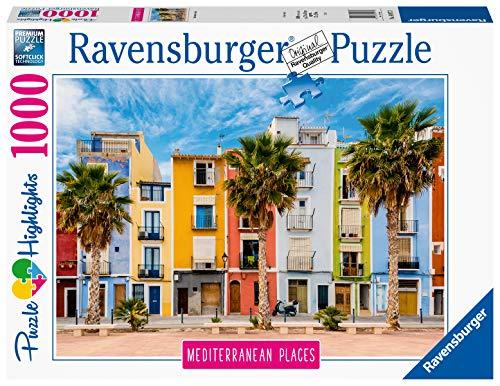 Amazon: Ravensburger 14977 Mediterráneo Collection Villajoyosa, Alicante, España, 1000 Piezas Rompecabezas