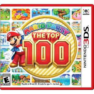 Elektra: 50% Descuento Mario Party The Top 100 Nintendo 3DS