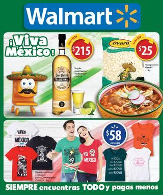 Nuevo folleto Walmart valido de 1 septiembre al 18 septiembre