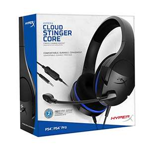 Amazon: HyperX Cloud Stinger Core PS4