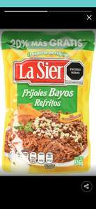 Amazon: Frijoles bayos refritos 516g