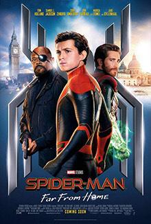 iTunes: Spiderman Lejos de Casa 4K
