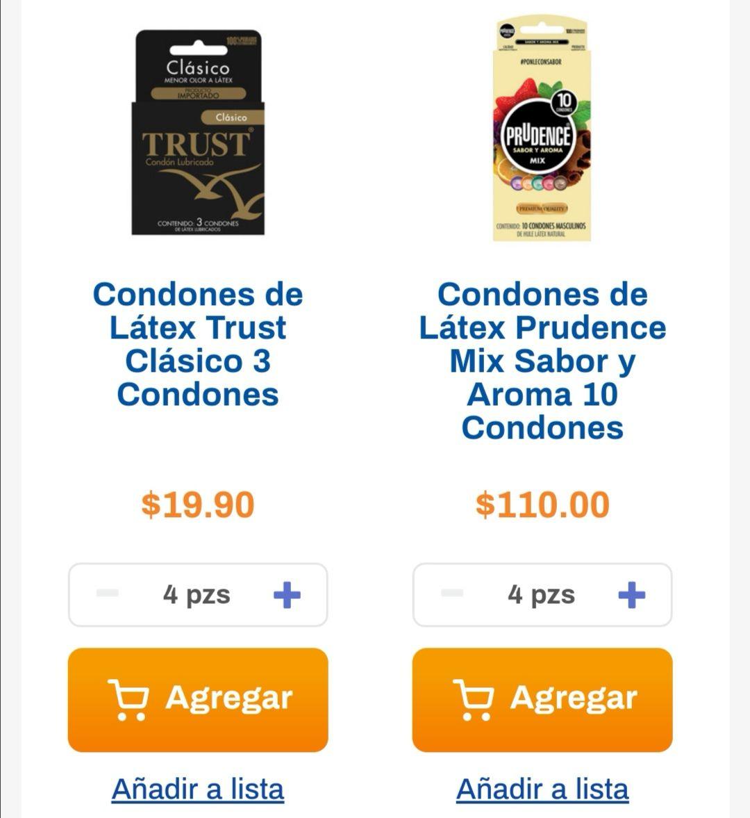 Chedraui: 4 x 2 en preservativos Prudence seleccionados... 3 x 2 en preservativos Prudence seleccionados
