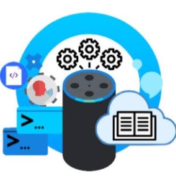 Udemy Español: Alexa, aplicaciones de voz. Curso básico de Amazon Alexa / Curso de dibujo cartoon
