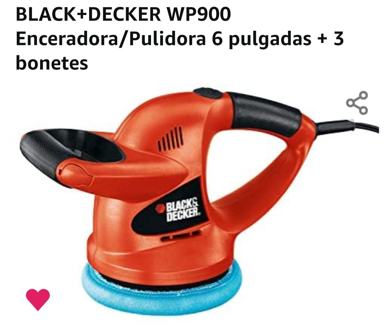 Amazon: pulidora / enceradora +3 bonetes