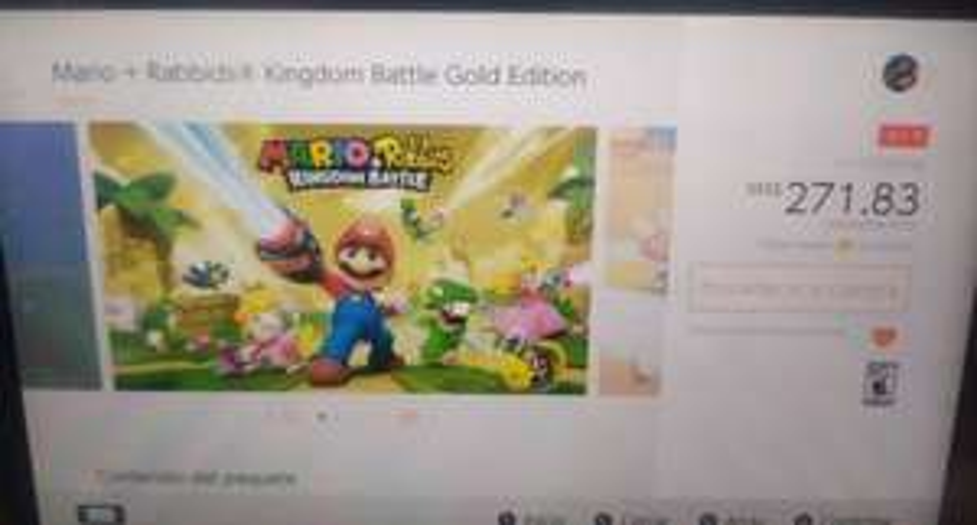 Nintendo eShop Brasil: Mario + Rabbids Kingdom Battle Gold Edition