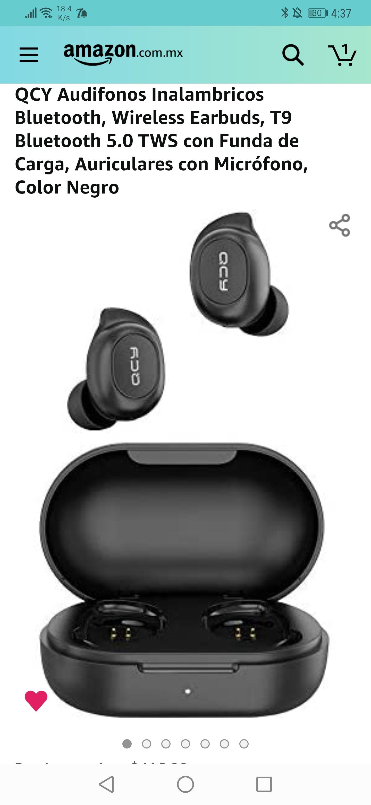 Amazon : QCY T9 Bluetooth 5.0 ( precio más bajo histórico )