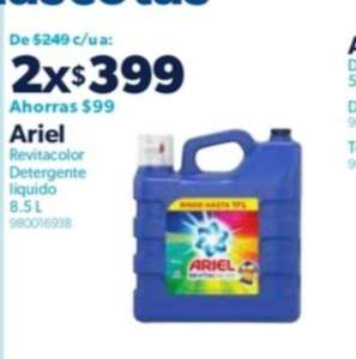 Sam's Club: Dos ariel vitacolor de 8.5 lts por $ 399