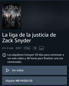 Prime Video: Zack Snyder's Justice League