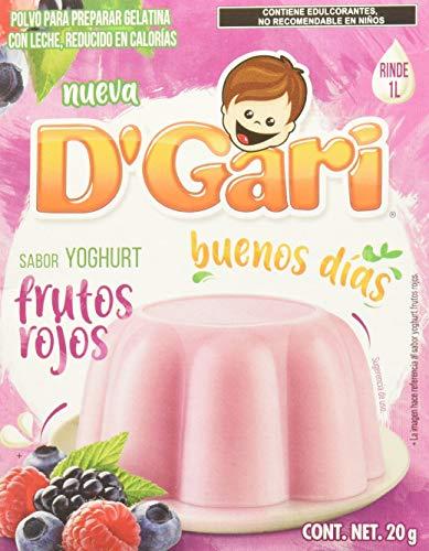 Amazon: Gari Gelatina Yoghurt Sabor Frutos Rojos
