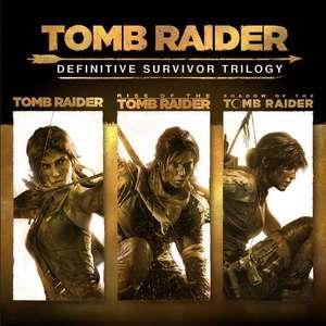 Microsoft Store: Tomb Raider: Definitive Survivor Trilogy (con todos los DLC) [Xbox One/Series X|S]