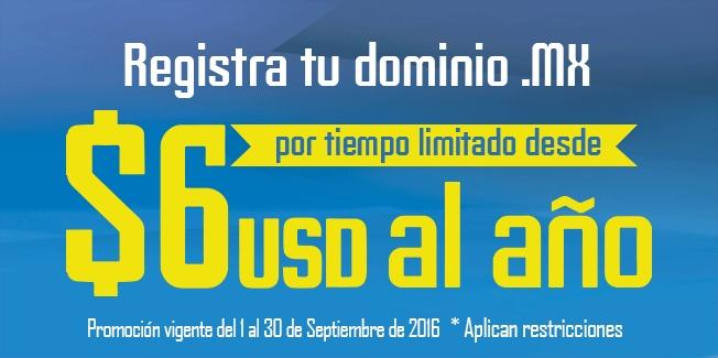 Akky: Registro de dominio .mx desde $6 USD al año