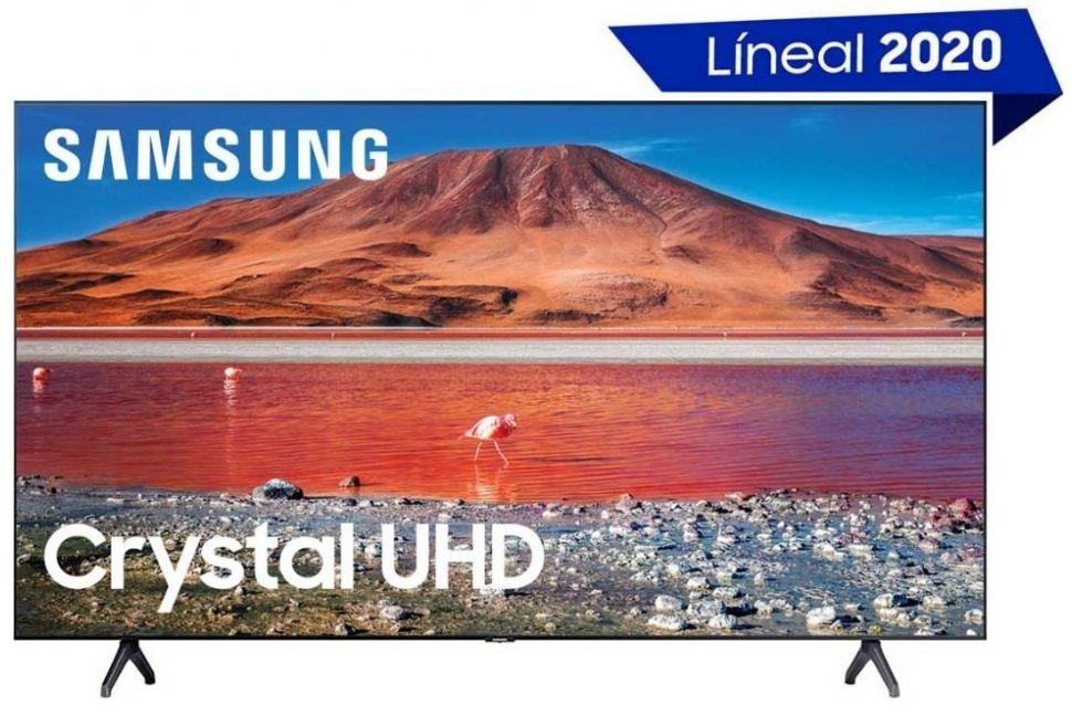 "Sears: Pantalla 50"" Crystal Uhd 4K Un50Tu7000Fxzx Samsung Banorte"