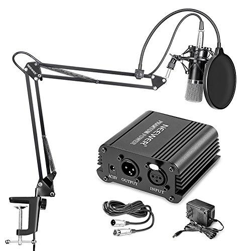 Amazon: Microfono condensador Neewer NW-700 con Phantom power 48v