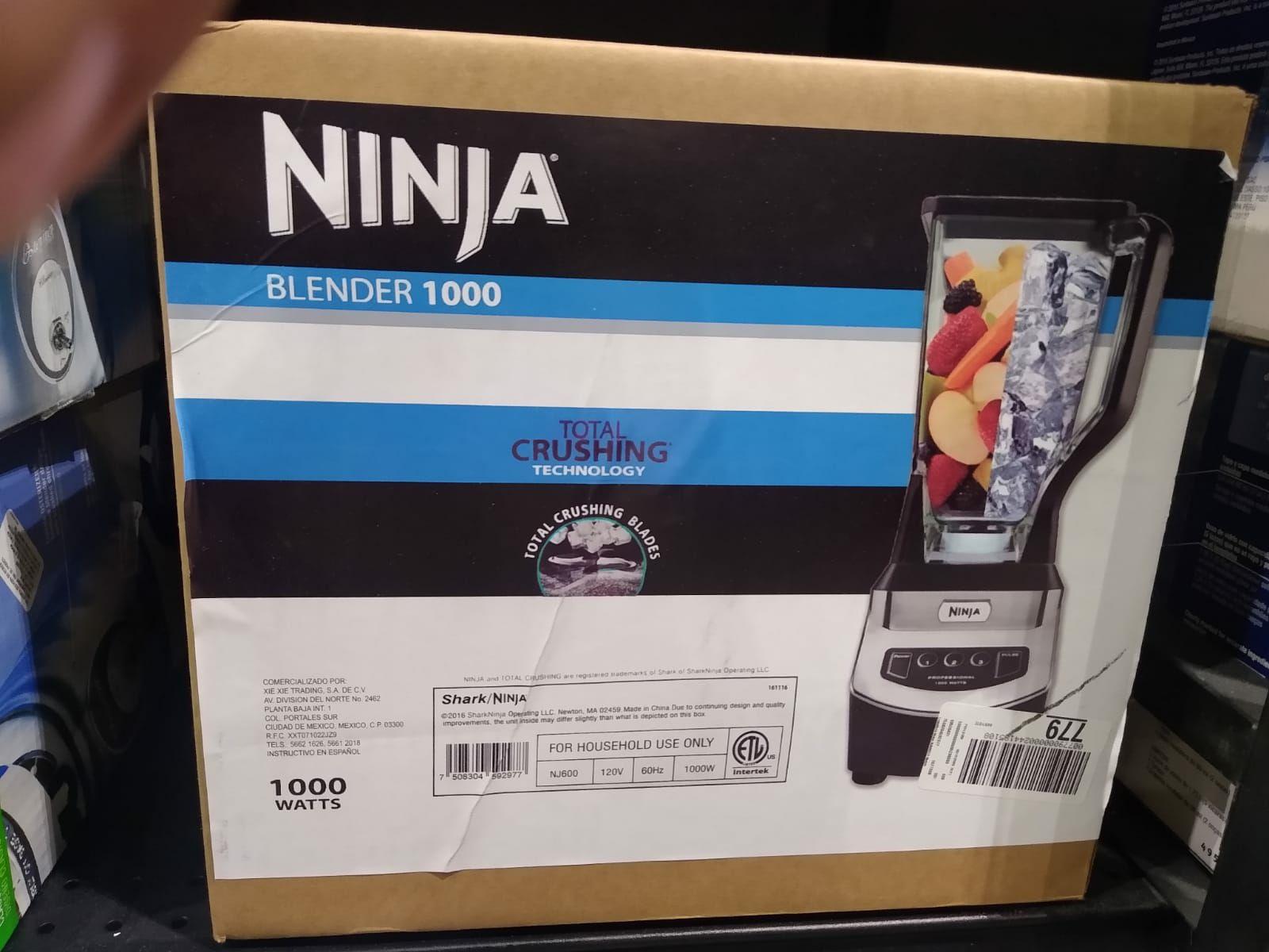 Chedraui: Licuadora ninja Nj600