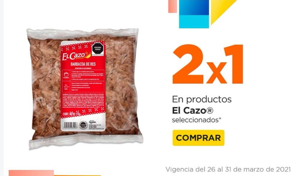 Chedraui: 2 x 1 en productos El Cazo seleccionados