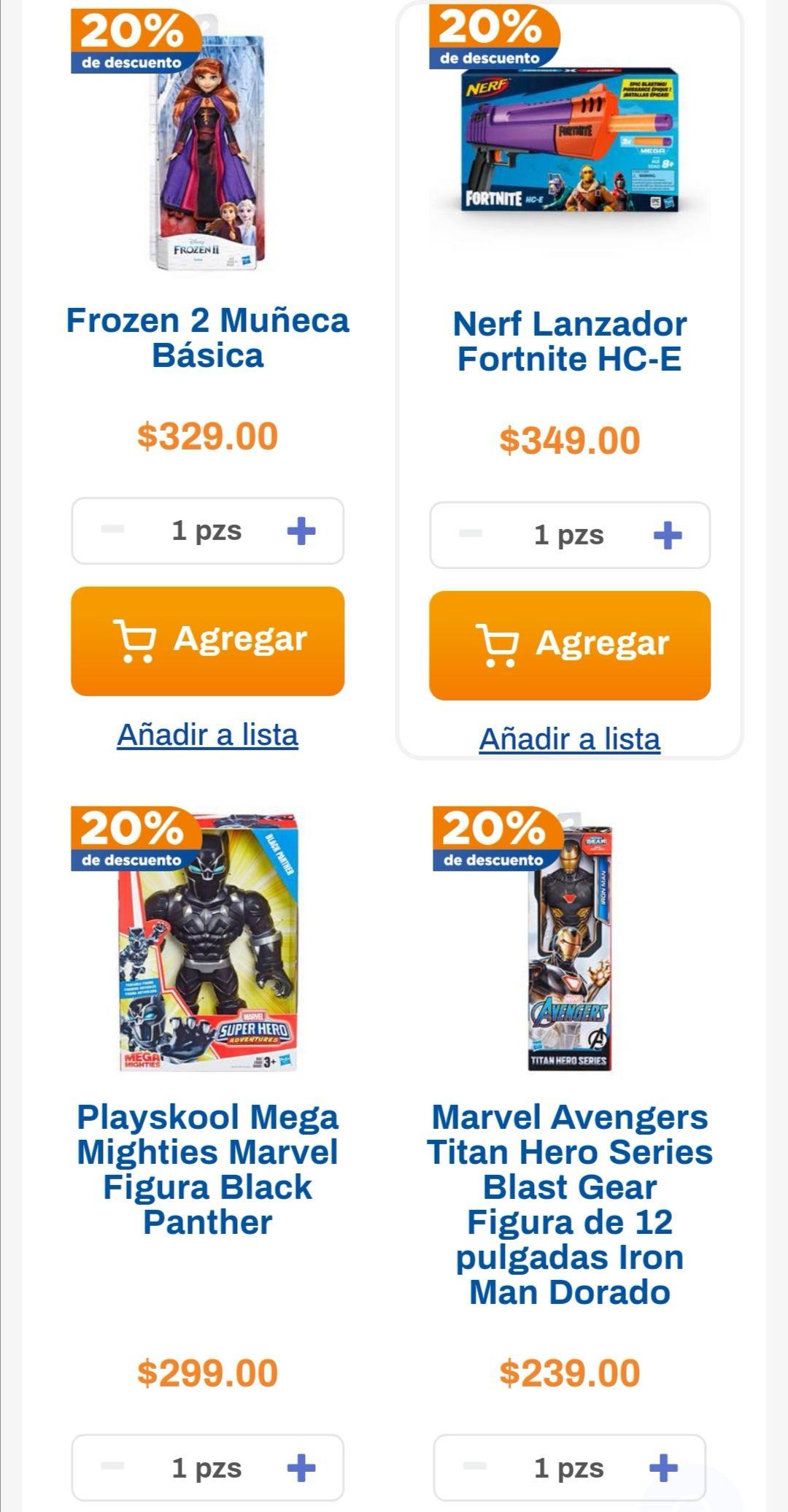 Chedraui: 20% de descuento en artículos Hasbro seleccionados