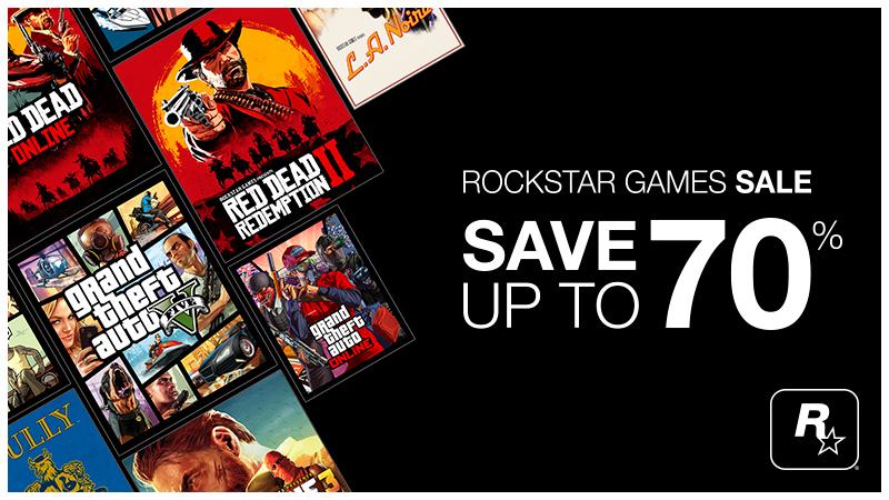 Steam: Ofertas del distribuidor Rockstar