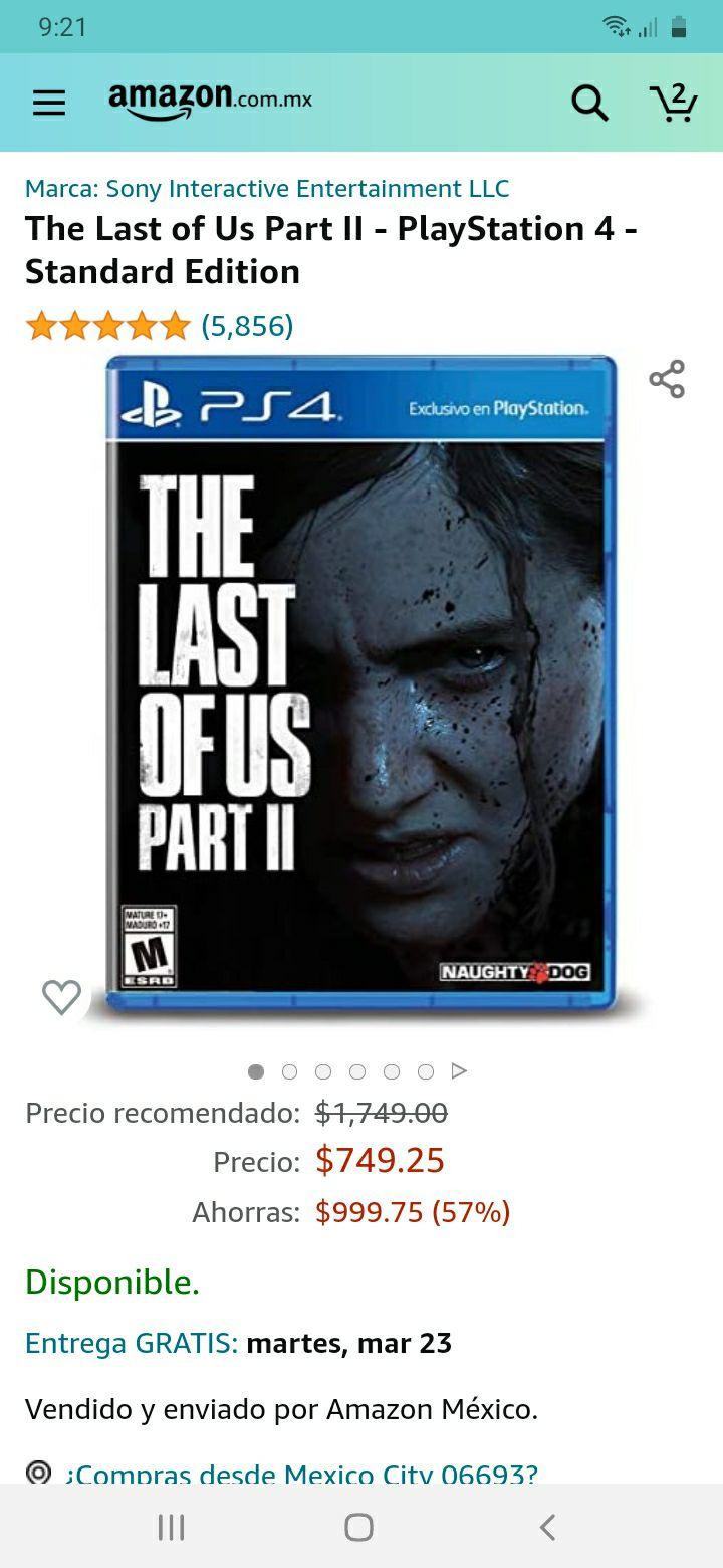 Amazon: The last of us ps4