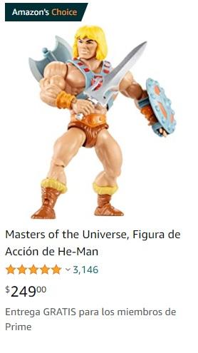 Amazon: Juguetes He Man