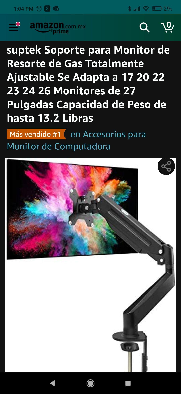 Amazon: Base monitor sencillo de gas