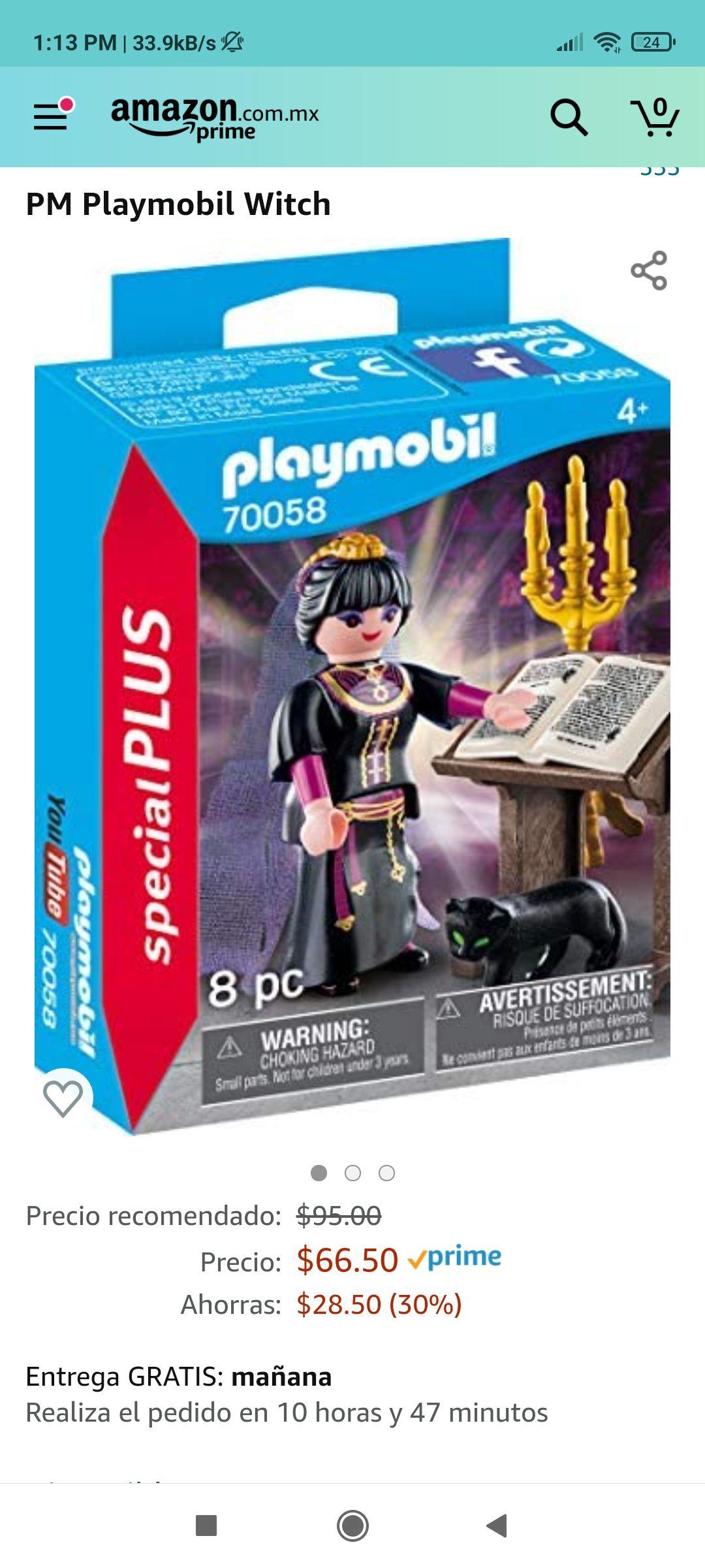 Amazon: Brujita Playmobil