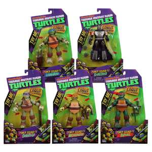 Walmart: figuras Teenage Mutant Ninja Turtles versión Power Sound