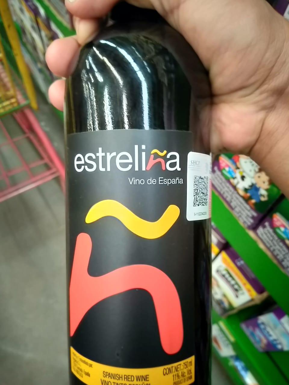 Bodega aurrera: vino español estreliña