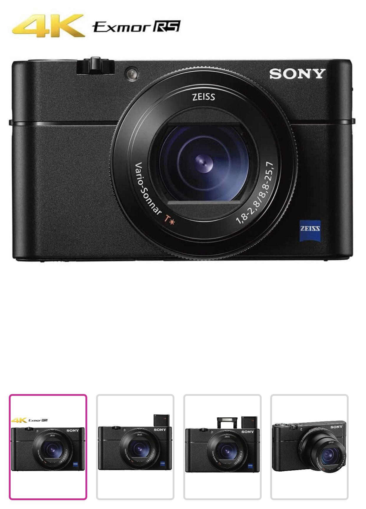 Liverpool: Cámara compacta Sony DSC-RX100M5