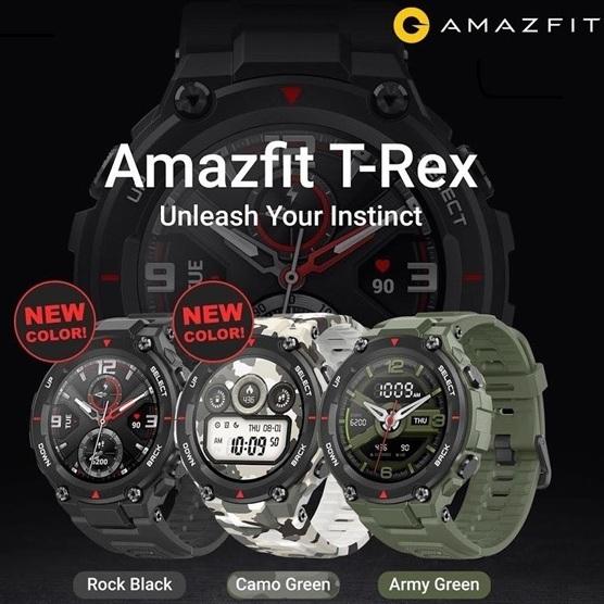 Banggood: Amazfit T-Rex AMOLED GPS + GLONASS 14 modos Deportivos