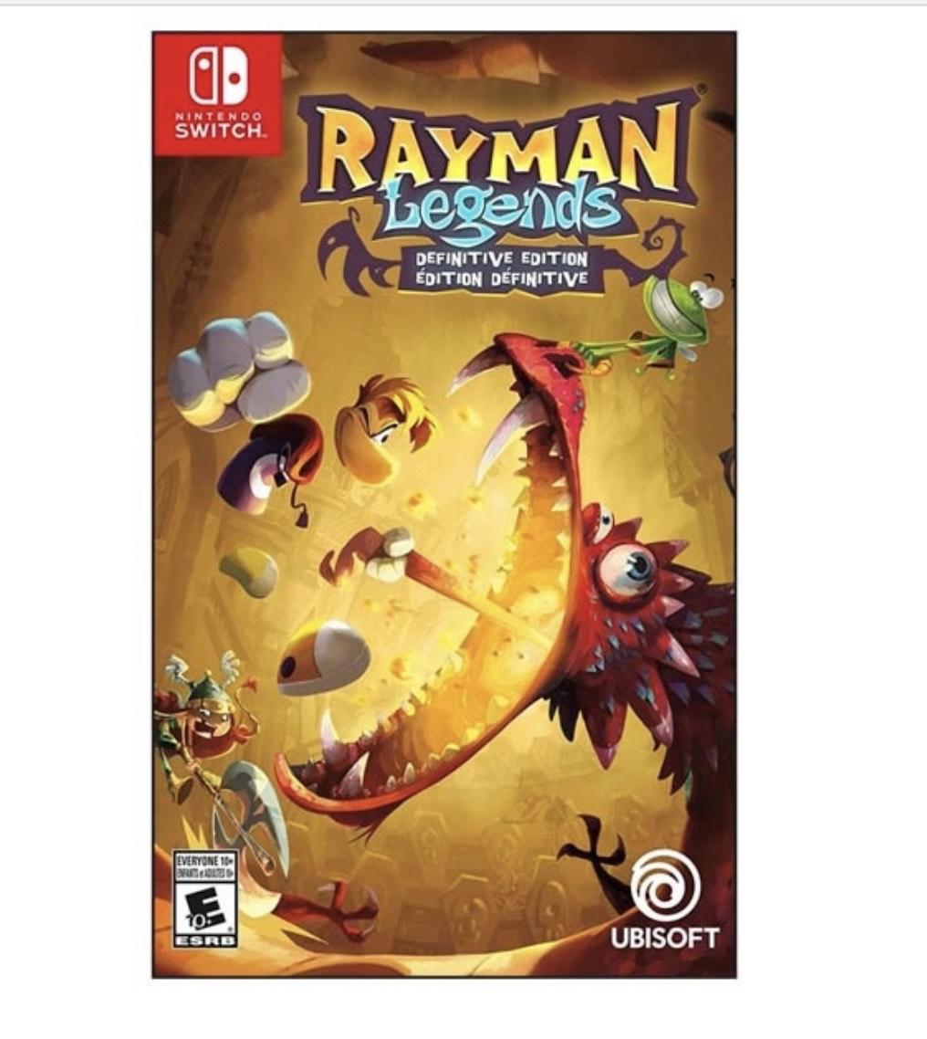 Nintendo eShop Brasil Switch: Rayman Legends Edición Definitiva