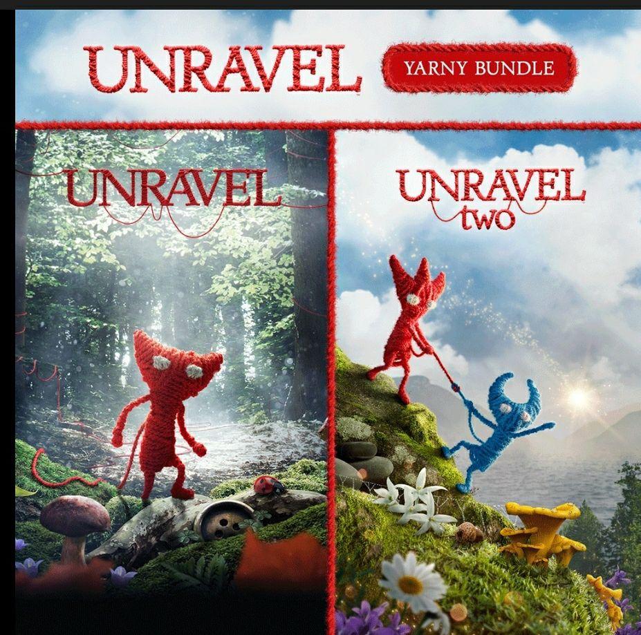 PSN, Unravel 1 y 2 PS4 (usuarios PS Plus)