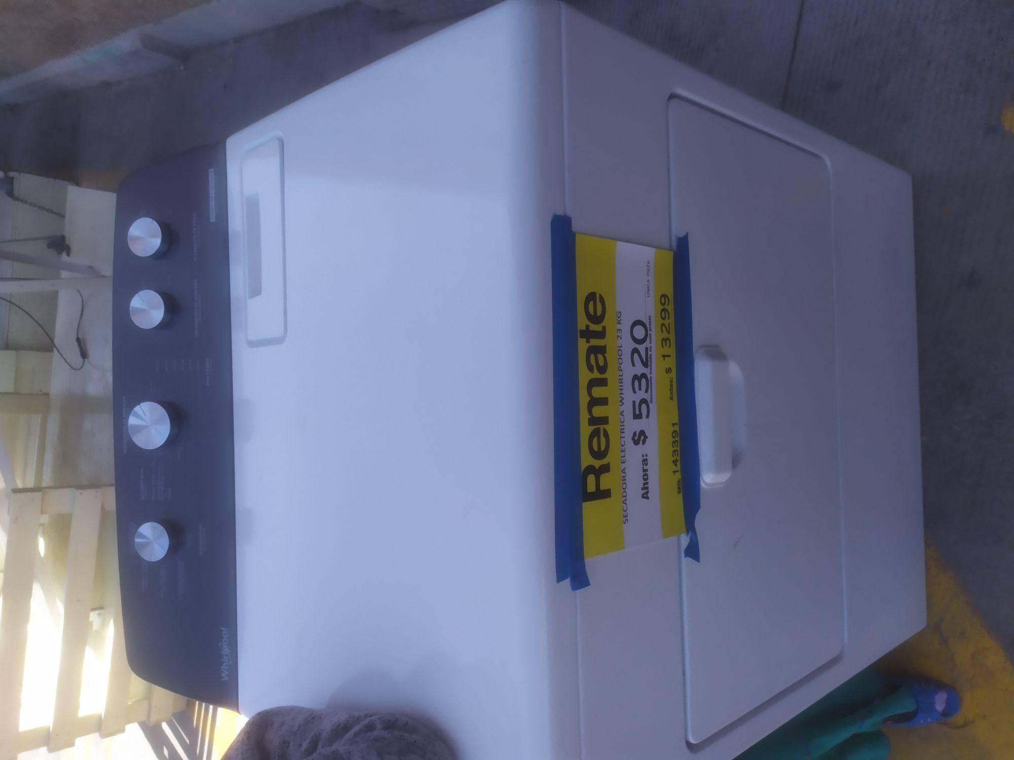 Home depot: Secadora eléctrica Whirlpool 23kg