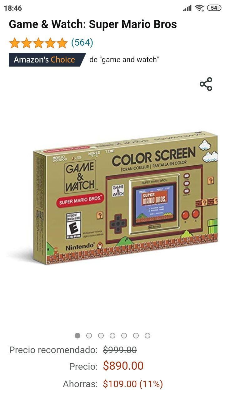 Amazon: Game & Watch Super Mario Bros.