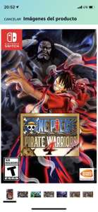 Amazon: One Piece Pirate Warriors 4 para Switch