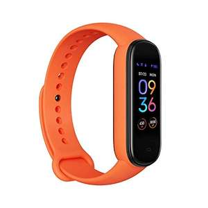 Amazon: Amazfit Band 5 Fitness Tracker con Alexa Integrado, Naranja