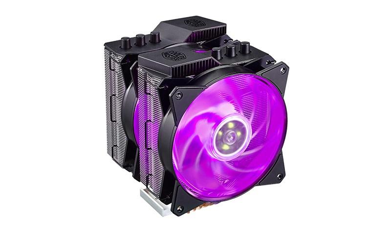 CyberPuerta: Disipador CPU Cooler Master MasterAir MA620P RGB, 120mm
