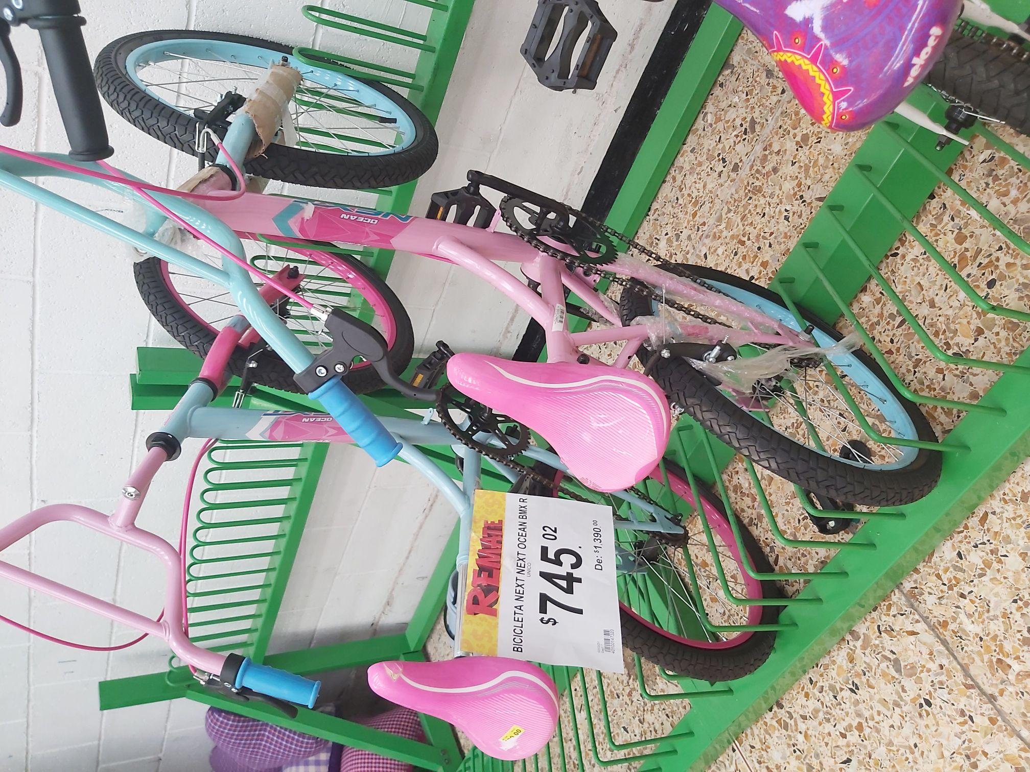 Bodega Aurrera: Bicicleta Next