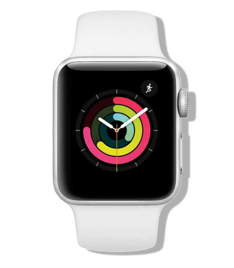 El Palacio de Hierro: Apple Watch Series 3, 38 mm, Plata/Blanco