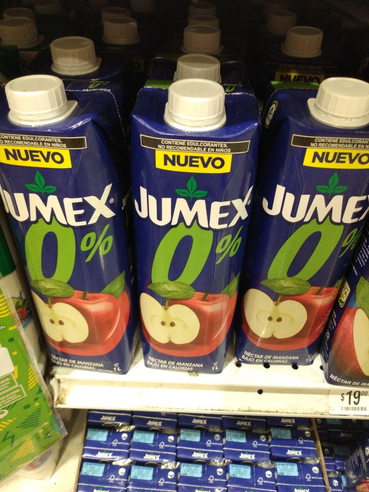 Chedraui: jugo jumex manzana 1 lt. Chedraui coyol Veracruz