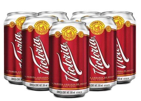 Amazon: Cerveza Ámbar Victoria 24 latas de 355 ml c/u