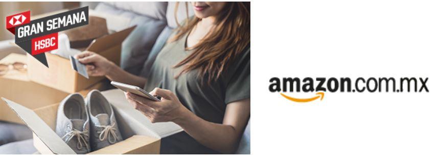 Amazon: $200 de descuento con HSBC