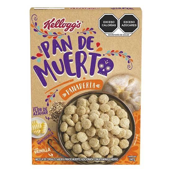 Soriana: Cereal Pan De Muerto a $14 pejecoins