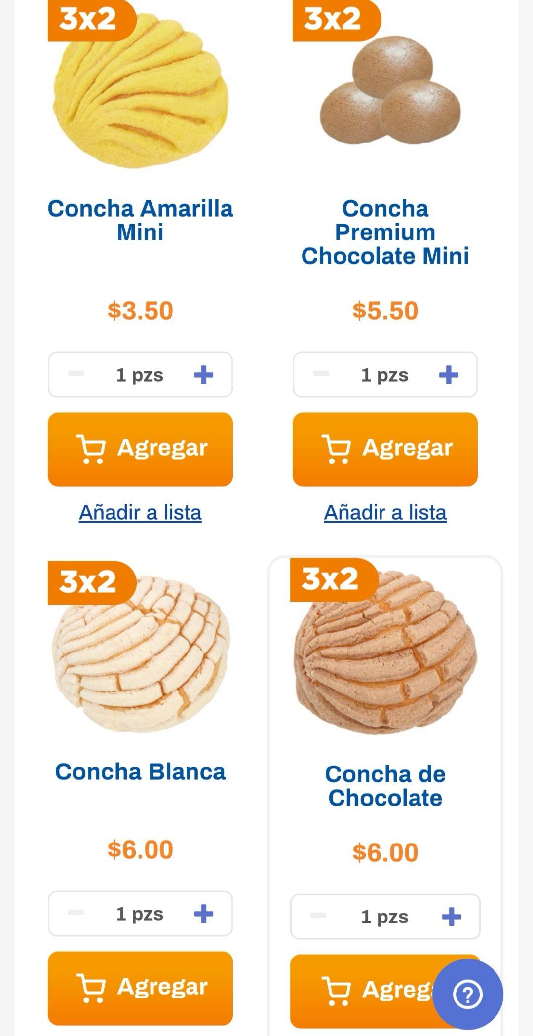Chedraui: 3 x 2 en conchas seleccionadas del departamento de panadería